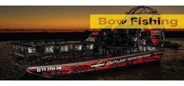 Bow fishing boat